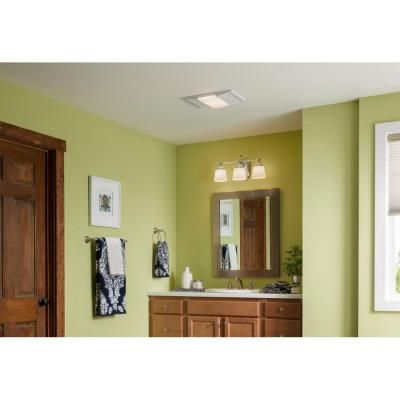 nutone 1,500-watt recessed ceiling heater with light and