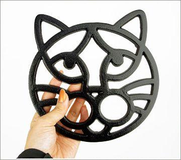 大西賢製販ANIMALTRIVETCAT鍋敷き 猫の雑貨iCat