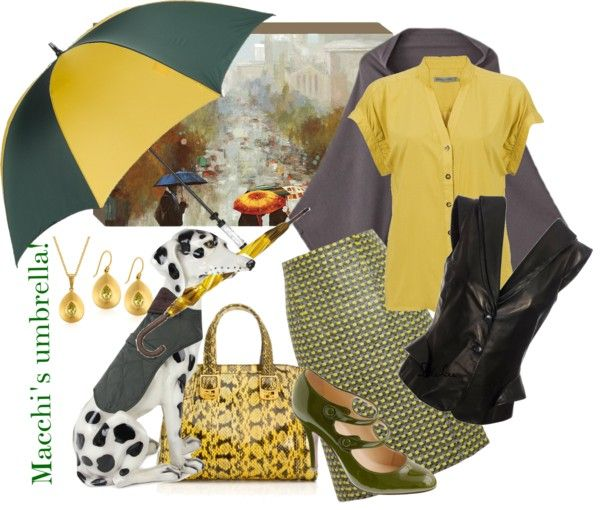 """""""In the Rain"""" by nanniehatter on Polyvore"""
