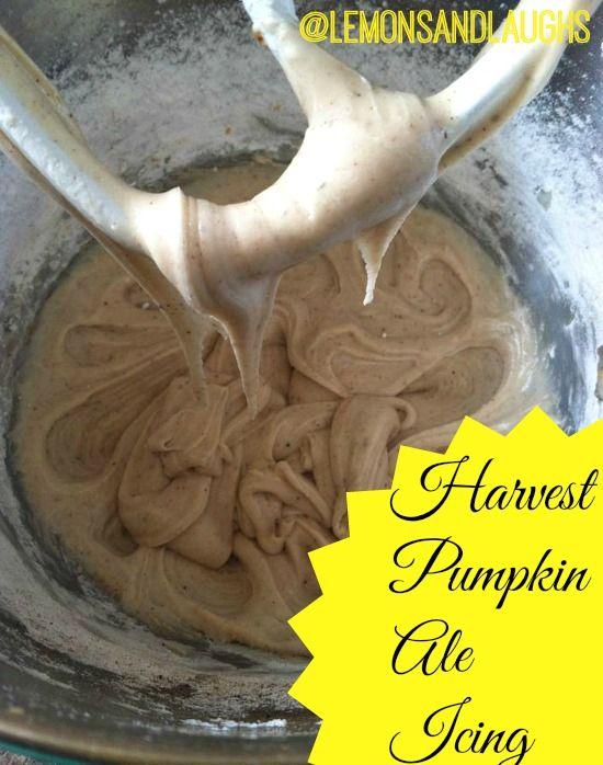 Harvest Pumpkin Ale Icing