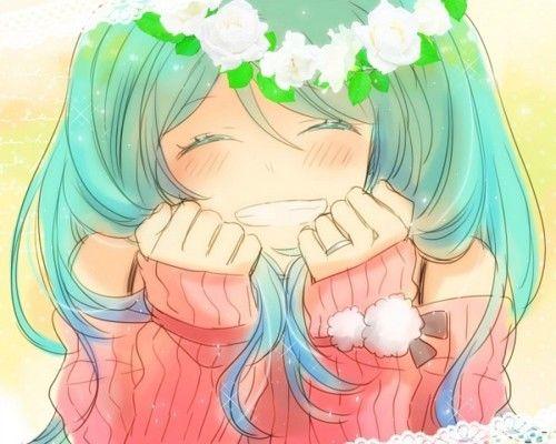 Resultado de imagem para tumblr anime sorrindo