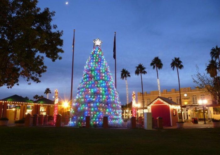 check out a truly unique arizona christmas tree in chandler its made entirely of tumbleweeds
