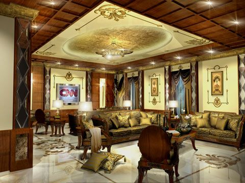 ديكورات فخمة مجالس ملكية In 2020 Living Room Spaces Interior Design House