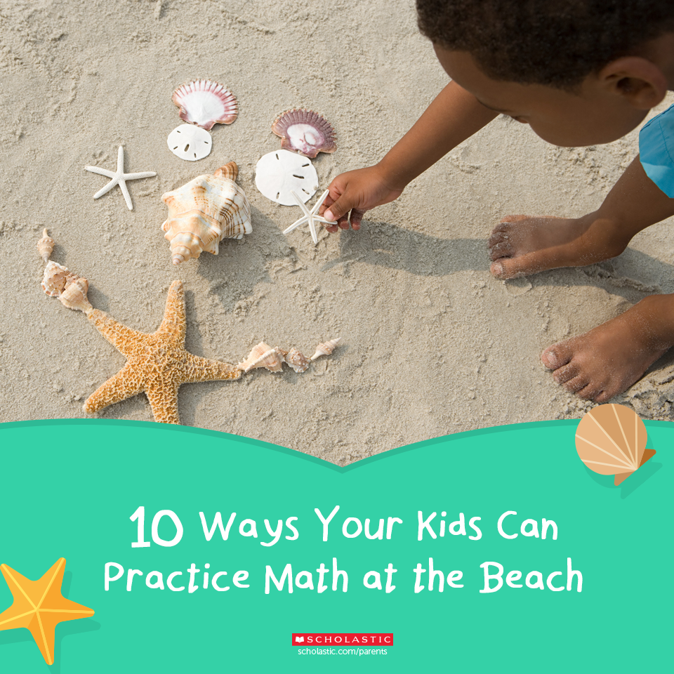 10 Ways to Practice Math at the Beach | Parents: Learning Activities ...
