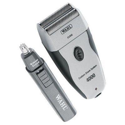 Wahl Custom Shave 4000 Foil Shaver With Bonus Personal Trimmer For Sale
