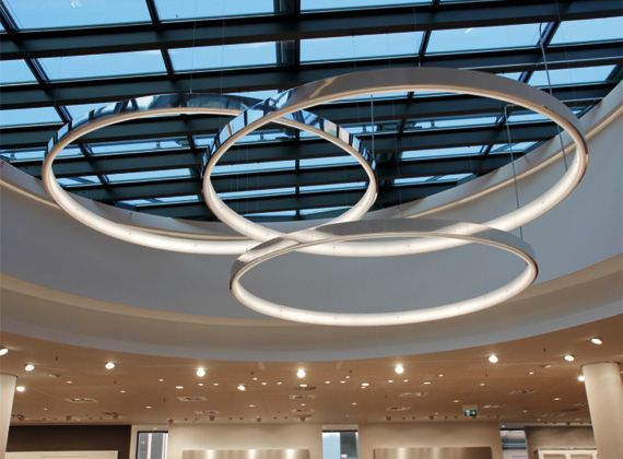 Moderne Lampen 8 : Circolo sattler combine circolos in its different sizes