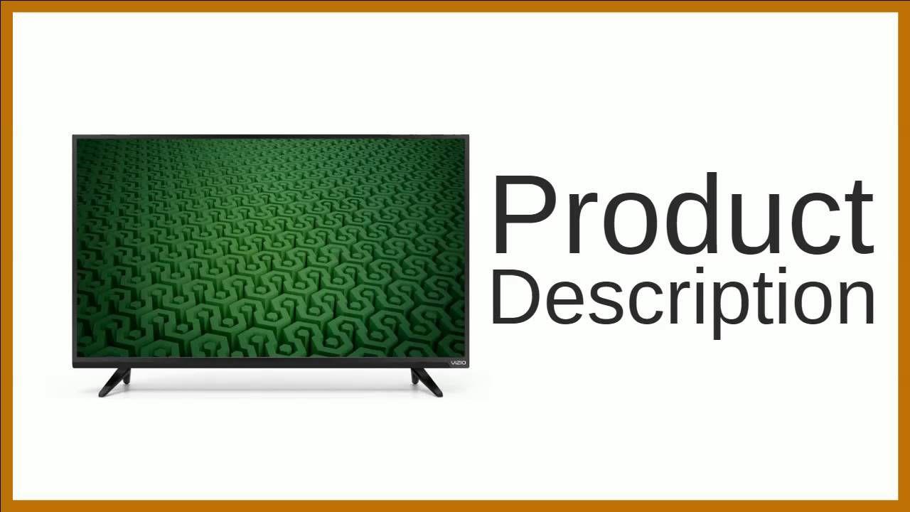 VIZIO D39h-C0 FullArray LED TV