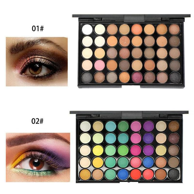 40 Colors Portable Cosmetic Matte Eyeshadow Palette