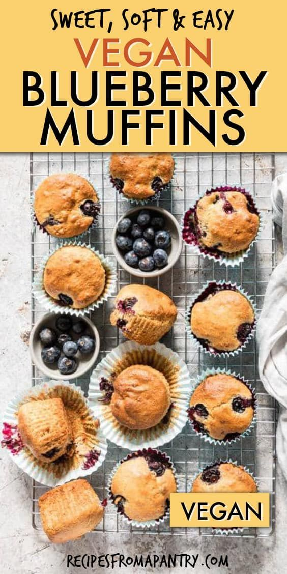 Vegan Recipes Blueberry Muffins