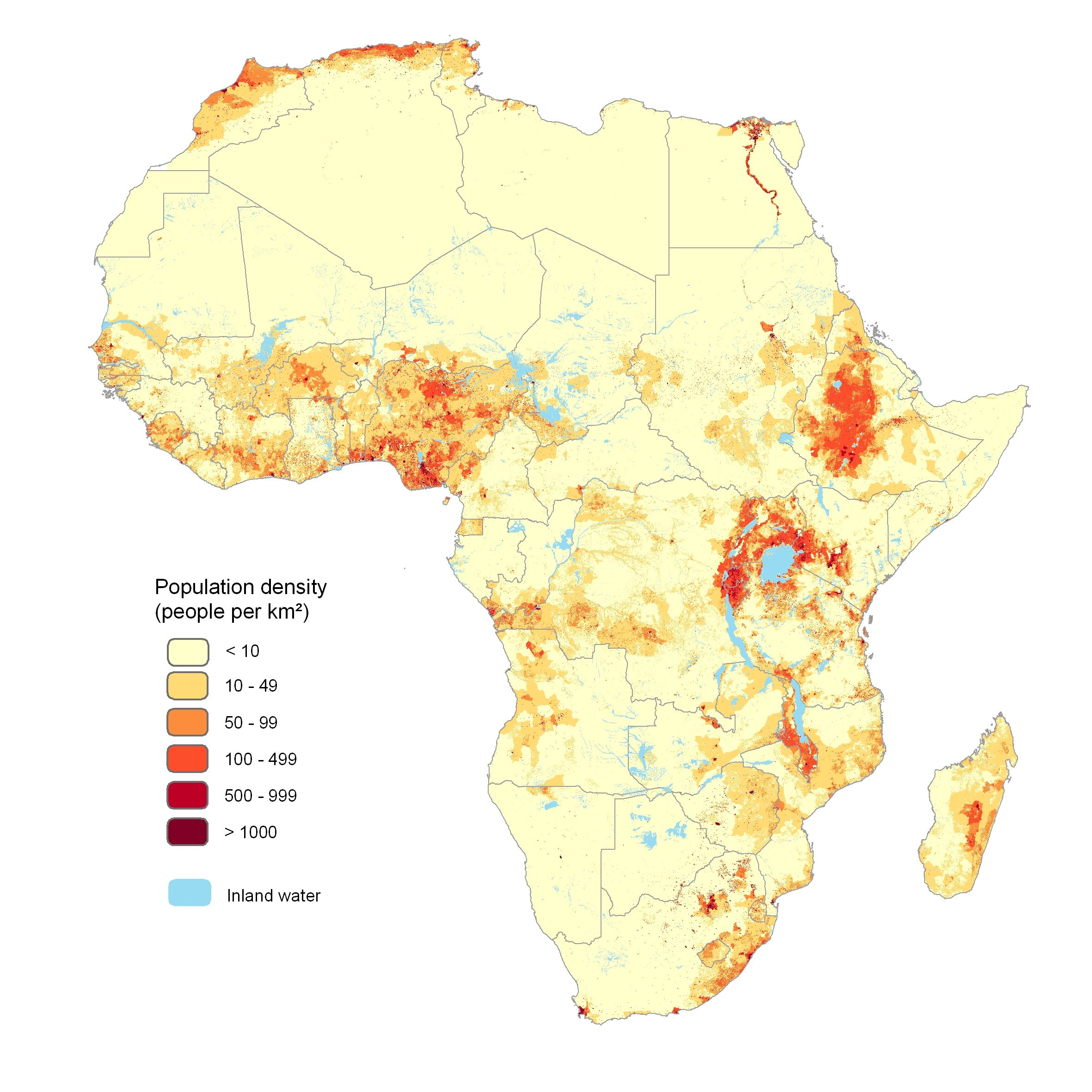 the afripop project high resolution population density mapping for the african continent