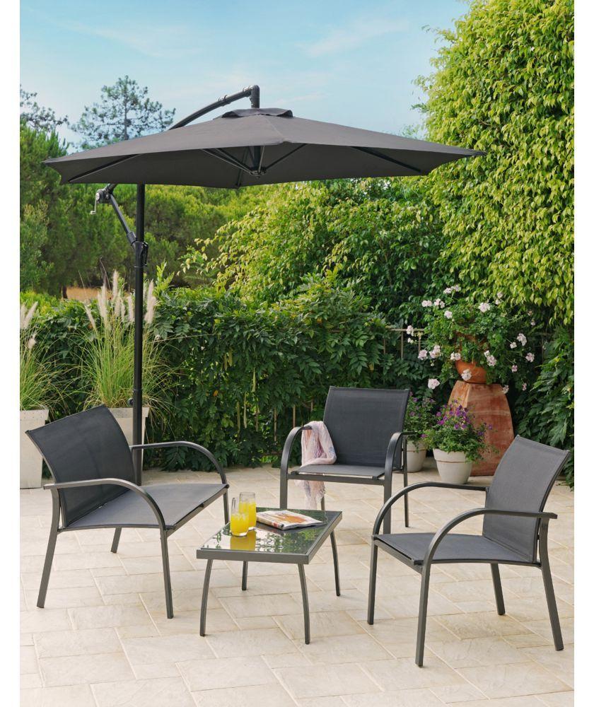 Argos Metal Garden Table And Chairs: Buy Milan 4 Seater Sofa Set At Argos.co.uk