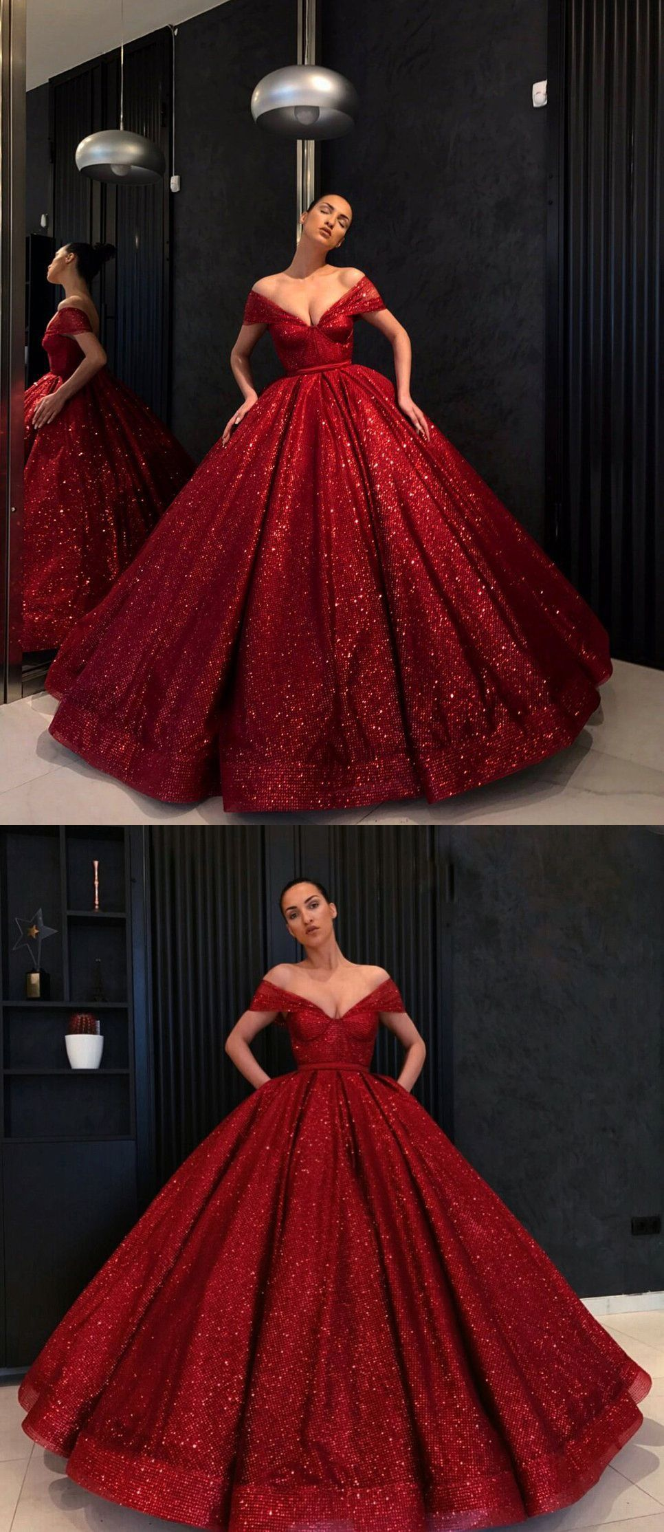To acquire Ball red dark gown pictures trends