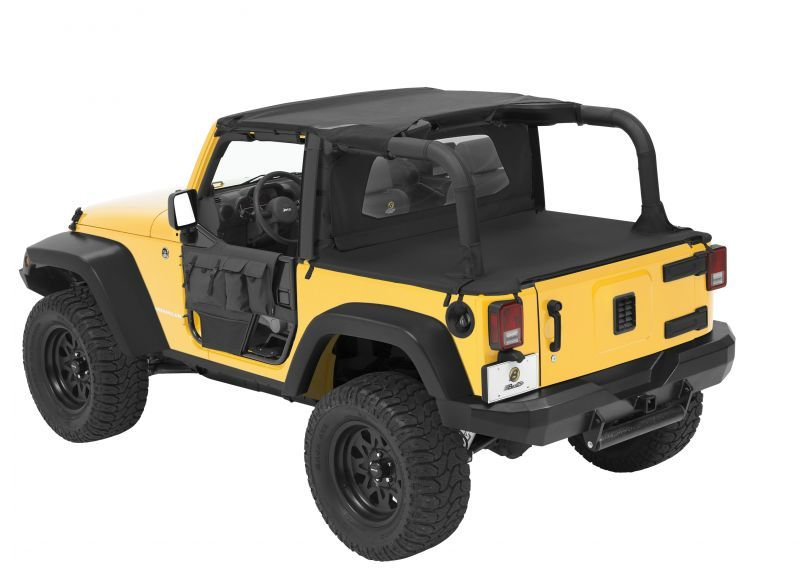How To Open The Sunrider Top On Your Jeep S Soft Top Like A Sun