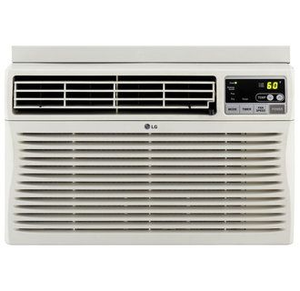 Lg Lw2512er 24 500 Btu Window Air Conditioner With Remote Control And Thermostat Best Window Air Conditioner Window Air Conditioner Cheap Air Conditioner