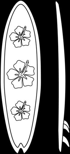 Surf Board Coloring Pages Surfboards Coloring Page Surfboard Surfboard Craft Surfing