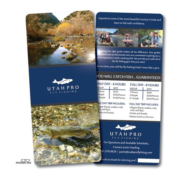 Gorgeous Examples Of Rack Card Designs  Brochures Graphic