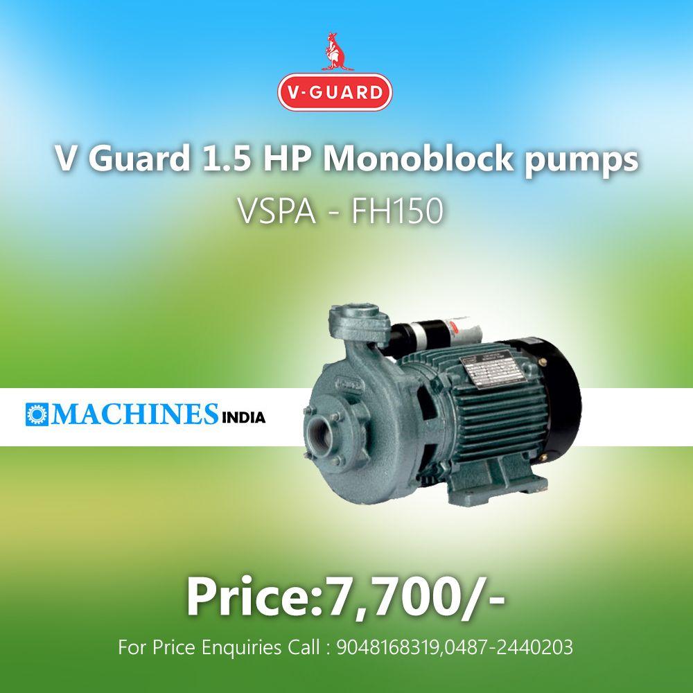 Vguard Pumbset Dealers Thrissur Www Machinesindia In Well Pump Water Pumps Pumps