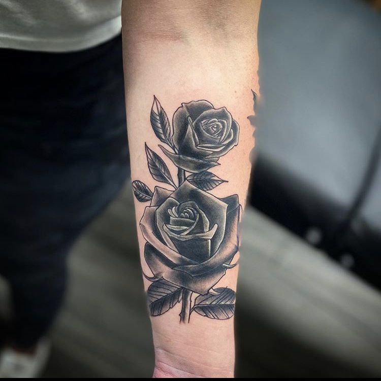 Coverup rose tattoo in 2020 funhouse tattoo tattoos