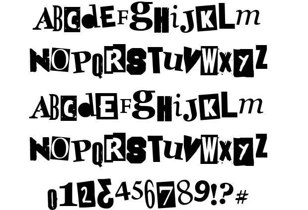 Doctor Punk font by Woodcutter http://www.fontriver.com/font/doctor_punk/ #distorted #fonts #punk #typography #lettering #design #webdesign #type #font #typeface #otf #fancy