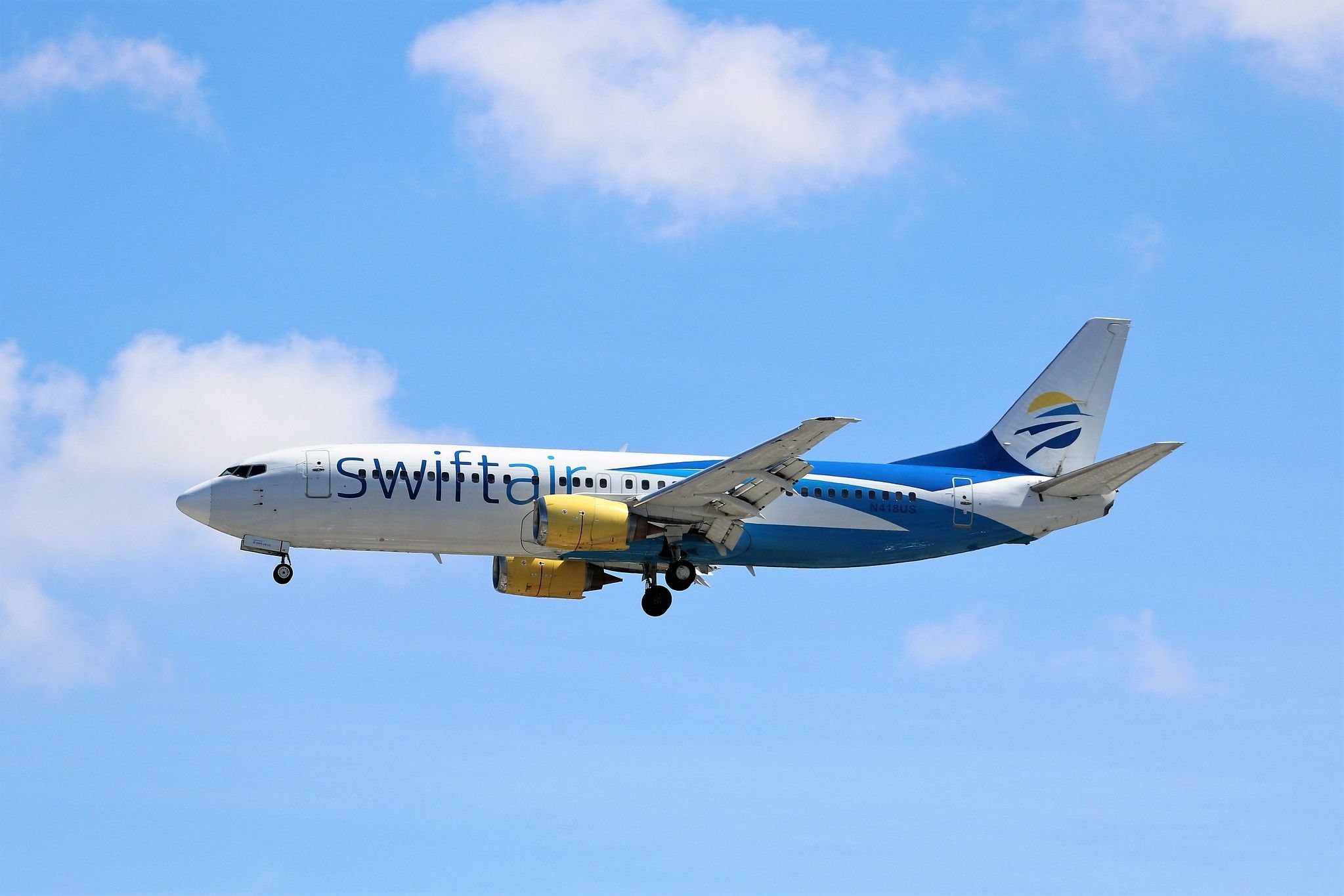Swift Air 737 Piedmont airlines, Air, Boeing 737