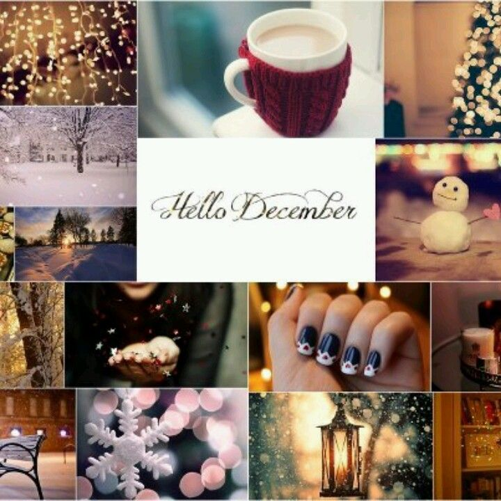 Merveilleux Hello December · Hello WinterWonderful ...