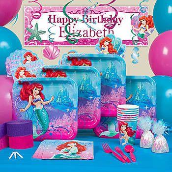 Little Mermaid Sparkle Party Favor Pack Each