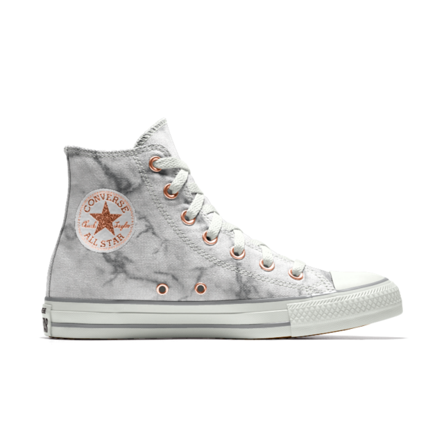 46f8fb44004a Converse Custom Chuck Taylor All Star Marble High Top Shoe