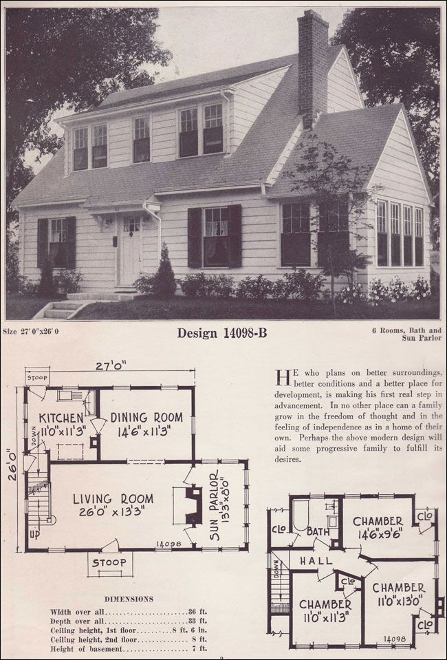 1925 C L Bowes 14098b Cape Style Homes Attic Remodel Small Bedroom Remodel