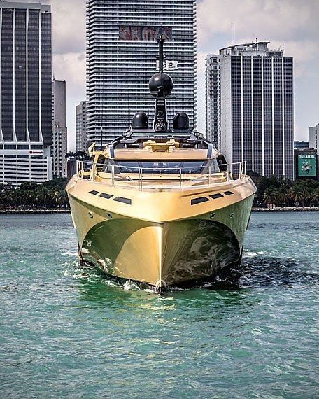 #gold #palmerjohnson #48m #superyacht #megayacht #crichclub #miami #usa #bigboss #billonarie #dollars by crichclub