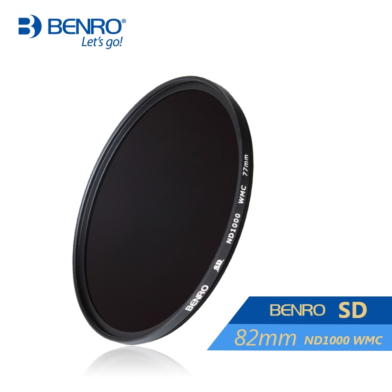 71.93$  Buy now - http://ali91w.worldwells.pw/go.php?t=32526678516 - Benro 82mm ND1000 Filter SD ND1000 WMC Filters 82mm Waterproof Anti-oil Anti-scratch Neutral Density Filters Free Shipping 71.93$