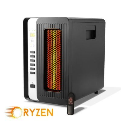 The 8 Best Small Mini Infrared Heaters 2021 Reviews Infrared Heater Space Heater Heater