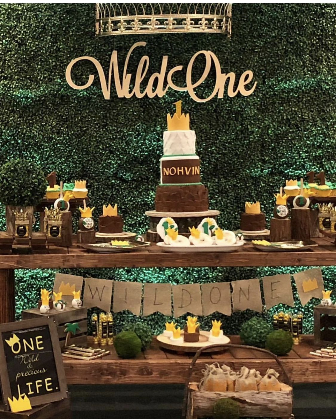 Where The Wild Things Are My Son S First Birthday Party Wild Birthday Party Wild One Birthday Party First Birthday Party Themes