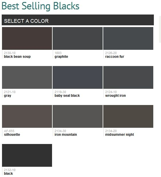Image Result For Paint Black Bean Benjamin Moore