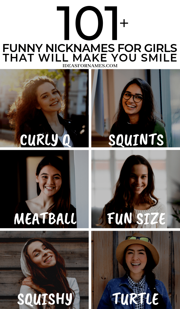 Funny Nicknames For Girlfriend Funny Nicknames Funny Nicknames For Girls Nicknames For Girls Funny Nicknames