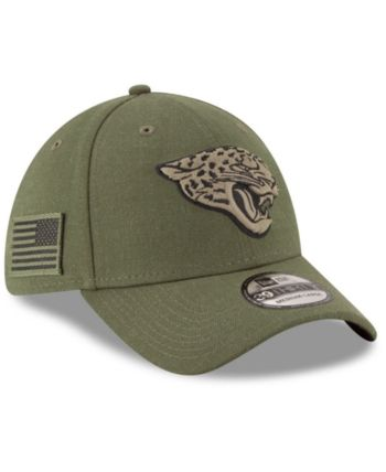 New Era Jacksonville Jaguars Salute To Service 39THIRTY Cap - Green ... aae362595