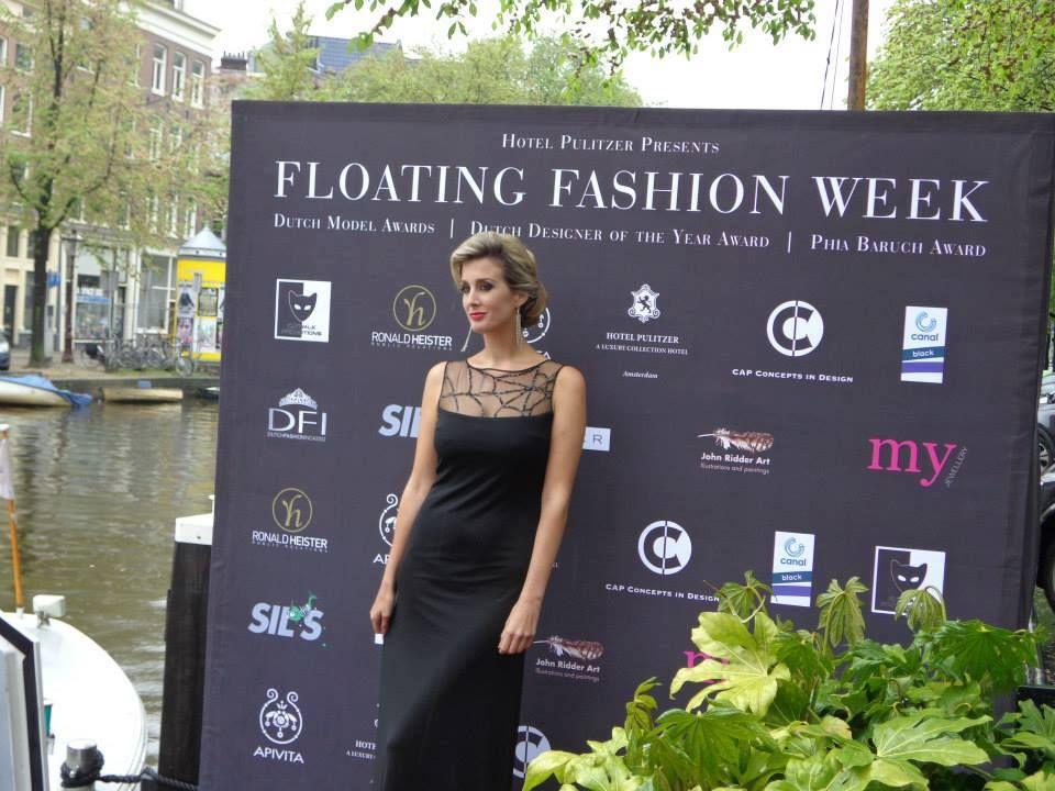 Anna Ostojic for Sheila de Vries Amsterdam Fashion week
