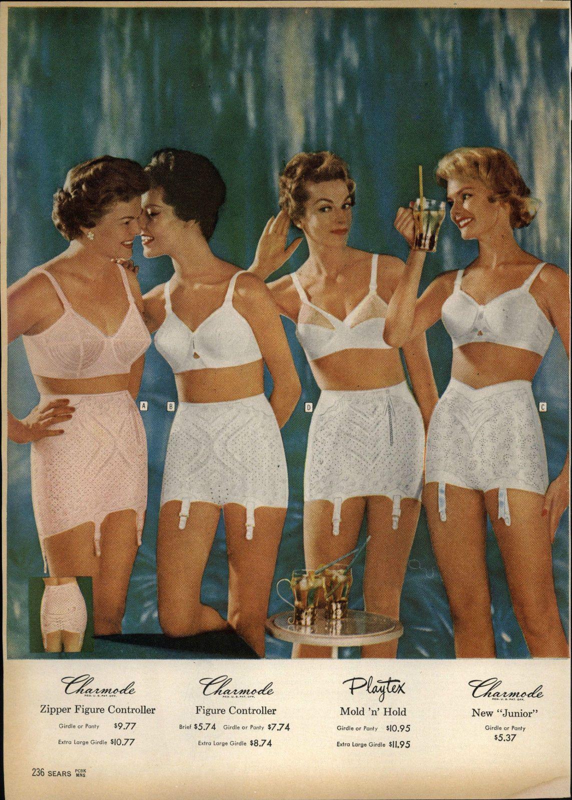 Sears Underwear Girl Old Catalog