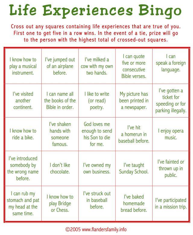 ice-breaker-bingo-for-adults | Children's Church ...