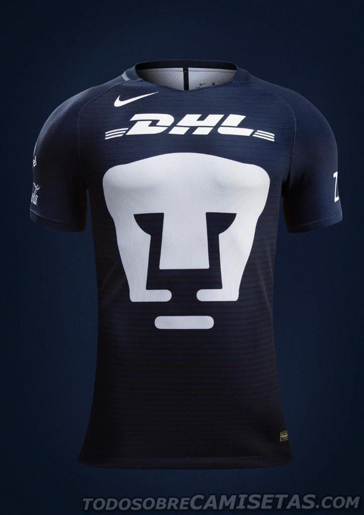 Tercer Jersey Nike de Pumas 2017  0492015453662