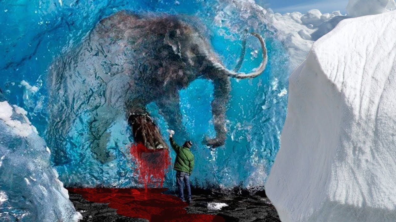 Mysterious Things Discovered Frozen in Ice   Prehistoric ...