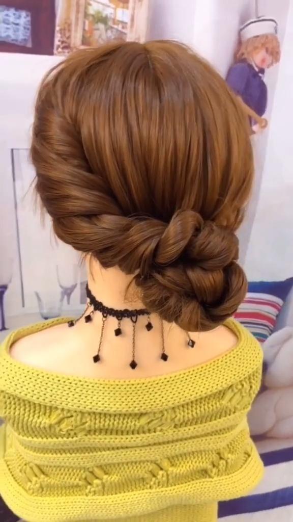 Tutorial de peinados trenzados – Pautas paso a paso – Peinados fáciles # trenzado # Fácil # guía  – Peinados
