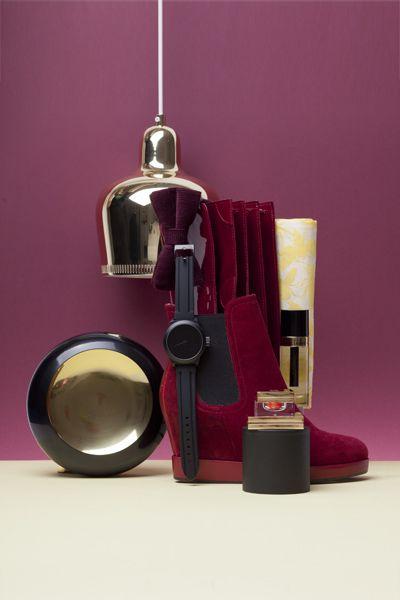 red issue.  reddish production for dutch design magazine eigen huis & interieur.