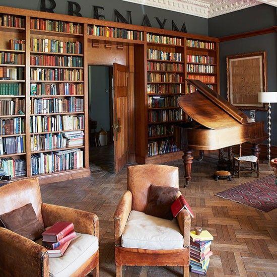 Innenarchitektur Literatur wohnideen arbeitszimmer home office büro büro zu hause mit