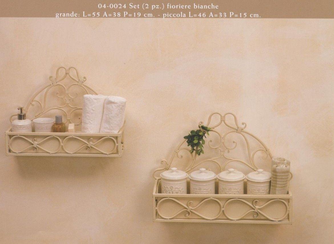 Etag re en fer forg blanc antique cerca con google etag re et fer forg antique j 39 adore - Mobili bagno in ferro battuto bianco ...