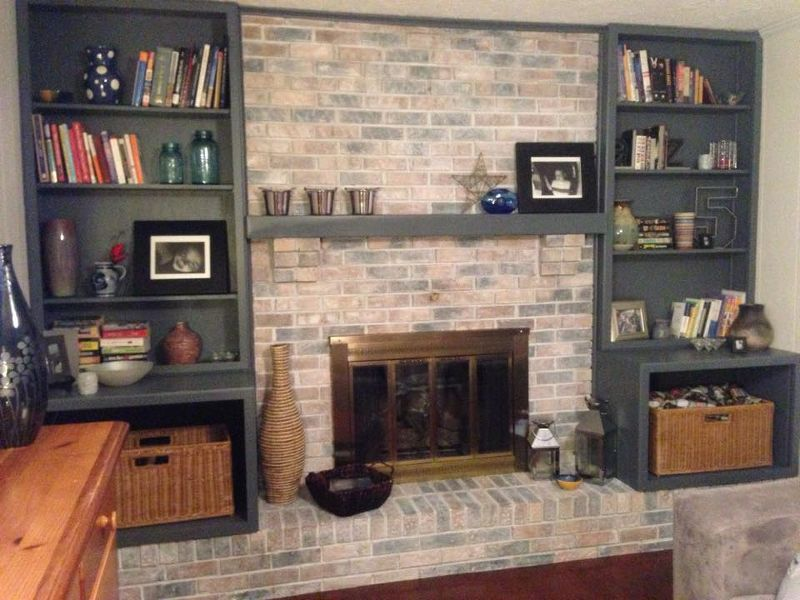 white washed fireplace, fireplaces mantels, painting