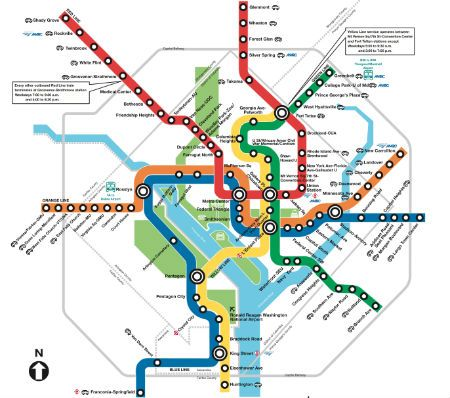 Printable Metro Map.Printable Downtown Washington Dc Map Percona Live Mysql