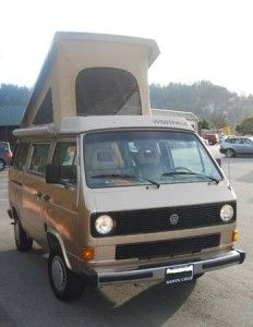 1985 VW Westfalia Camper Priced To Sell – $8,700 in Santa Cruz, CA