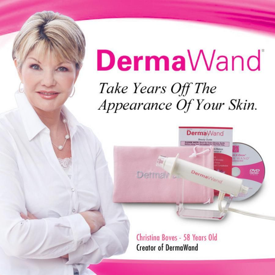 Derma Wand Derma Wand Natural Anti Aging Skin Care Facial System