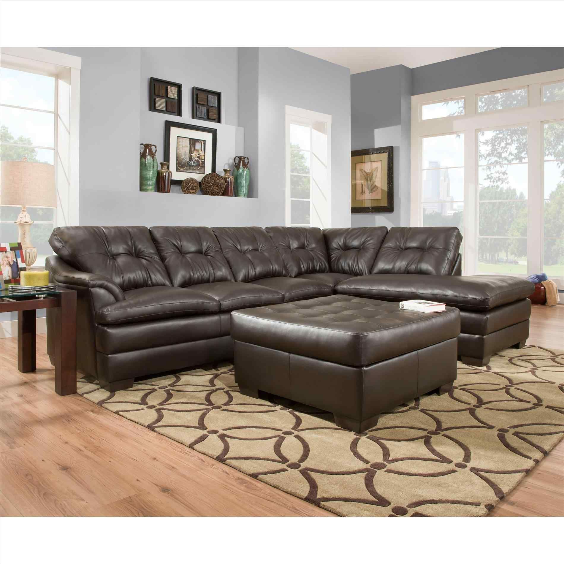 Sectional Sofa Reviews Run Upholstery Daisy U Wayfair Microfiber  ~ Simmons Leather Sofa Review