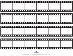 printable film strip decoration coolest free printables | 출력, Powerpoint templates